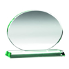 Picture of Jade Glass Oval (10mm Thick) - 5.75 x 7.75in (146mm X197mm)