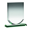Picture of Jade Glass Shield (10mm Thick) - 8in (203mm)