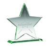 Picture of Jade Glass Star (10mm Thick) - 5.25in (133mm)