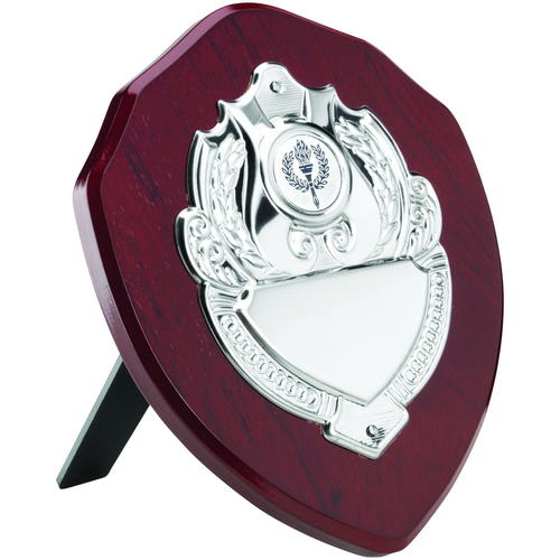 Picture of Rosewood Shield With Chrome Front (1in Centre) - 7in (178mm)
