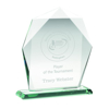 Picture of Jade Glass Heptagon (10mm Thick) - 8in (203mm)
