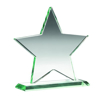 Picture of Jade Glass Star (10mm Thick) - 6.25in (159mm)