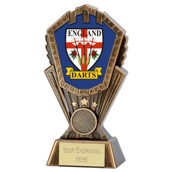 Picture of Personalised Cosmos Darts Award (7 inch (17.5cm)