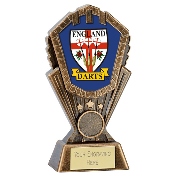 Picture of Personalised Cosmos Darts Award (8 Inch (20cm))