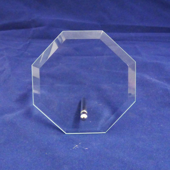 Picture of Octagonal Glass Award