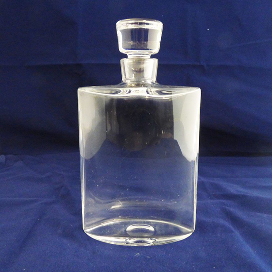 Picture of Plain Glass Decanter. 210mm