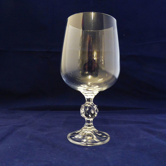 Picture of Plain Wine Glass with Stem Detail. 165mm