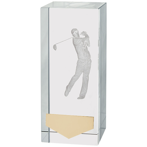 Picture of Inverness Golf Male Crystal Award 120mm