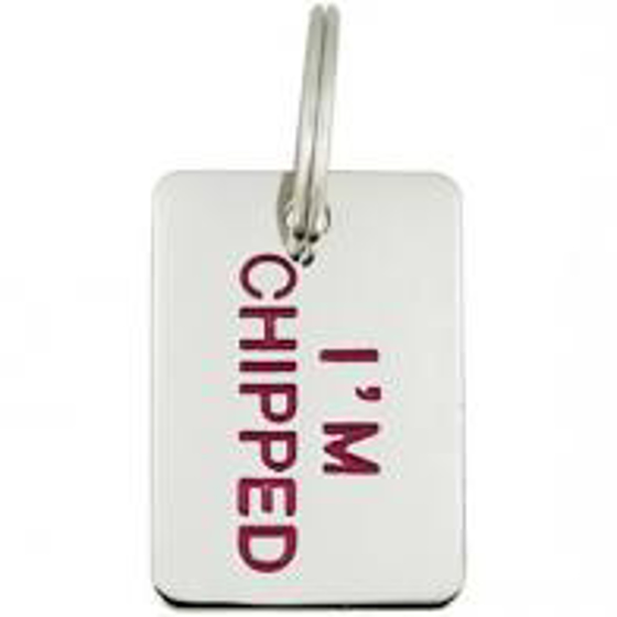 Picture of Im Chipped Pet Tag
