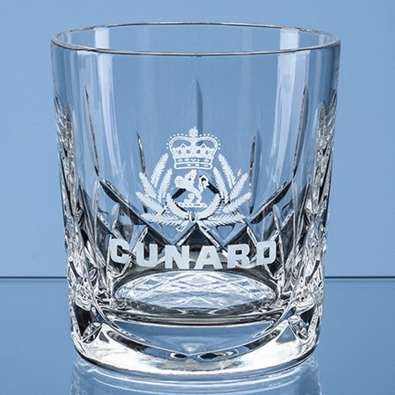 Picture of Flamenco Crystalite Panel Whisky Tumbler 320ml