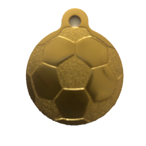 Picture of Circular Football Tag 32mm