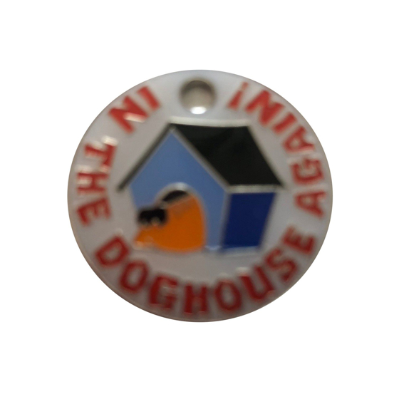 Picture of I'm In The Dog House Again Pet Tag