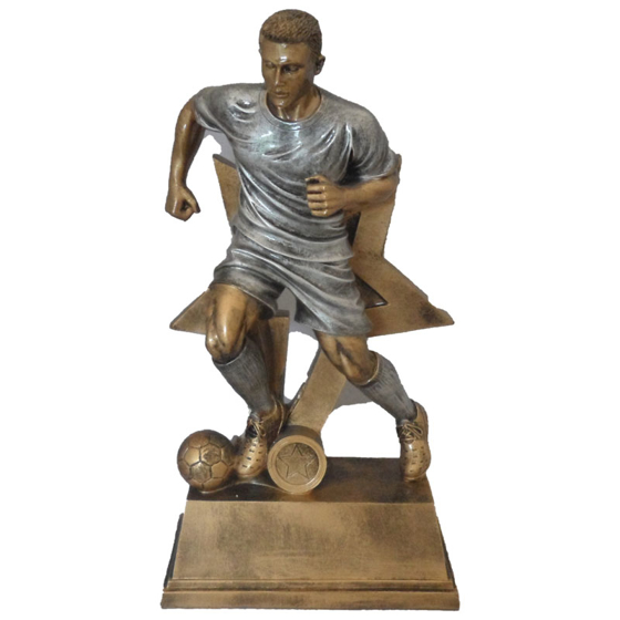 Picture of Male Running footballer star Award 350mm