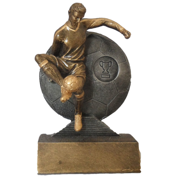 Picture of Footballer and Football Action Award 170mm