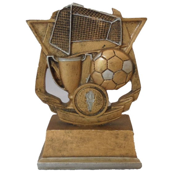 Picture of Football Cup Ball and Net Award 120mm