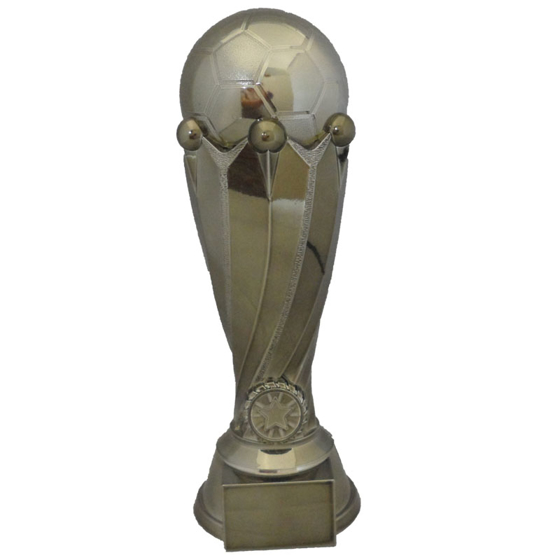 Picture of Football on Pedestal with Base Award 260mm