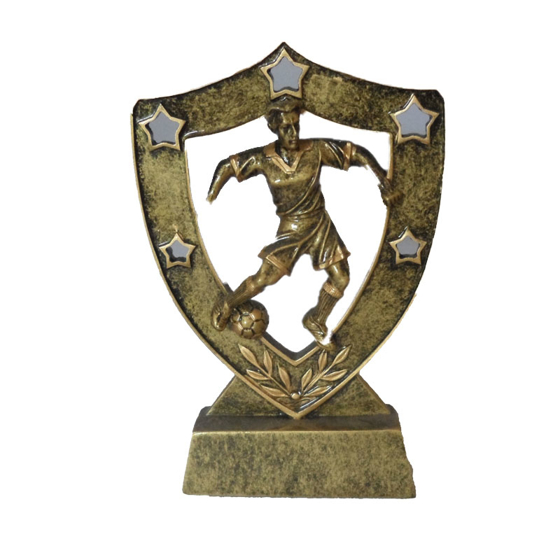 Picture of Shield Action Football Award 130mm