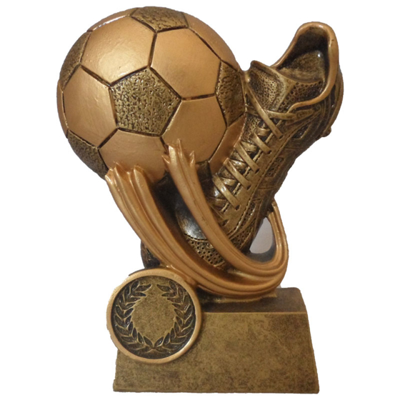 Picture of Swoosh Football and Boot Award 120mm