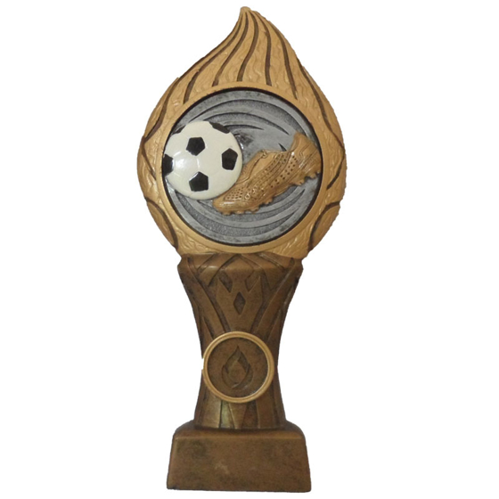 Picture of Football Flame Pedestal Award 220mm