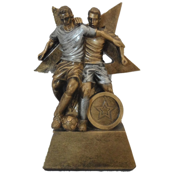 Picture of Star Football Two Players Award 150mm
