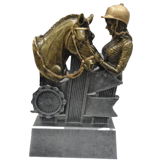 Picture of Rider and Horse Award 170mm