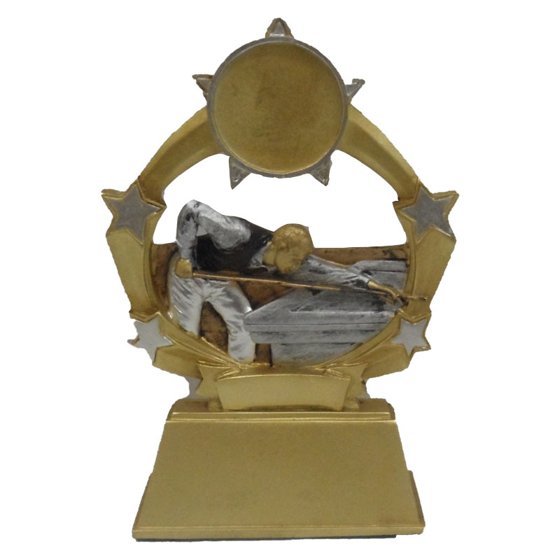 Picture of Shield Star Snooker/Pool Award 125mm
