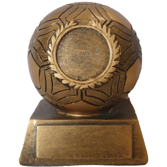 Picture of Medium Football on Plinth 85mm