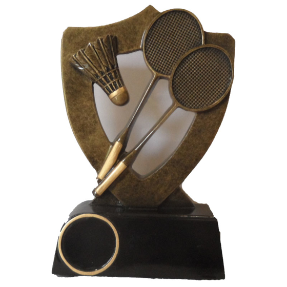 Picture of Badminton Shield Award 130mm