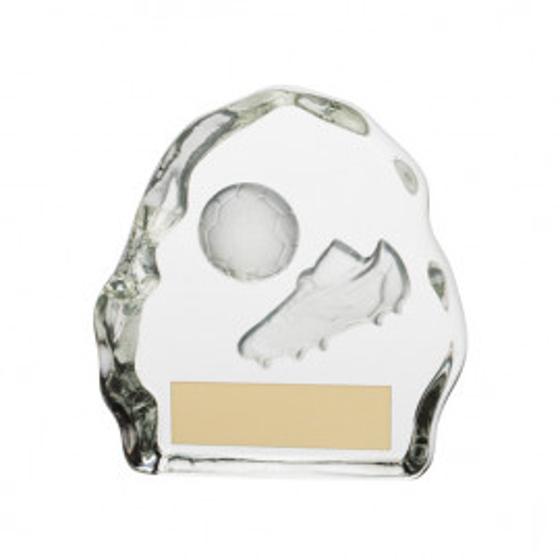 Picture of Sub-Zero Football Glass Award 75mm
