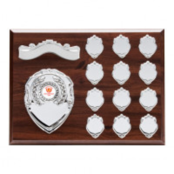 Picture of Principal Mahogany Annual Plaque Award 230x305mm
