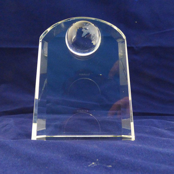 Picture of Arched shape globe award 115mm