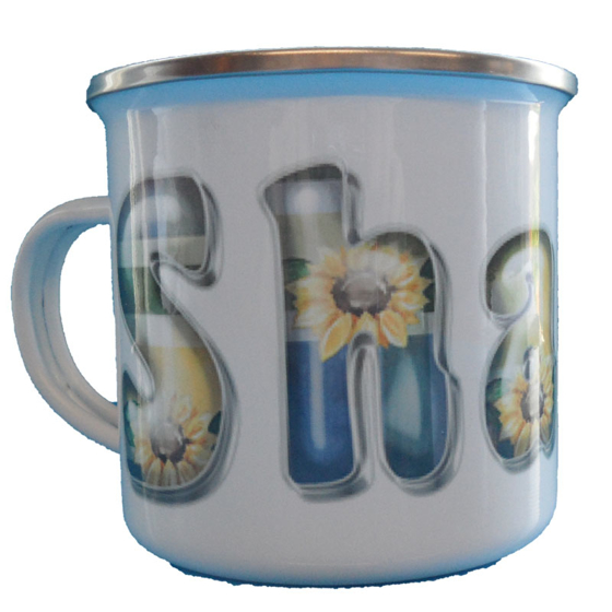 Picture of Enamel 10oz Photo Mug